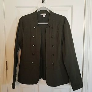 Oliver green military style jacket